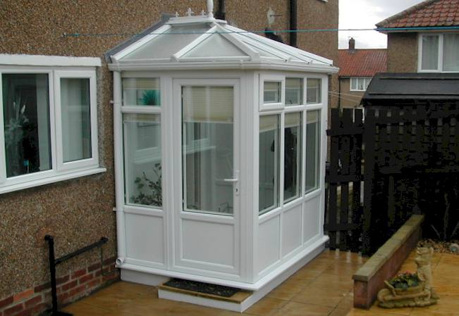 Made to Measure UPVC Porch