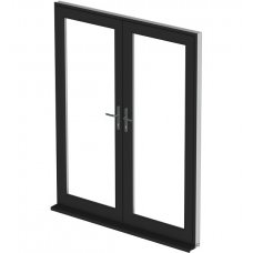 uPVC French Door - Black
