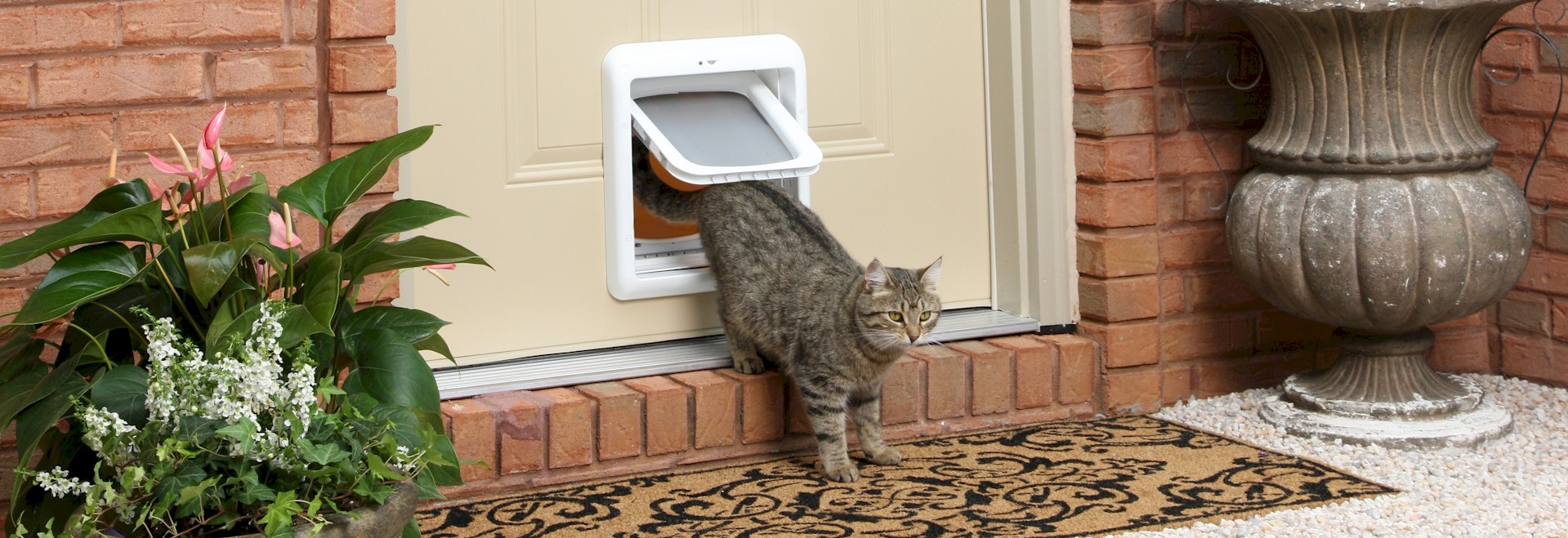 Suppliers of cat flaps dog doors for upvc doors order for Upvc french doors with cat flap